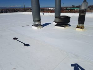 Energy efficient TPO roof for Intertape Polymer Group's