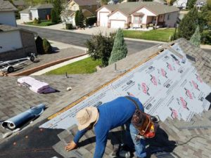 Asphalt shingles roof replacement in Denver