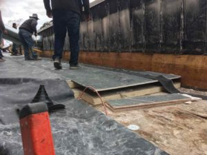 EPDM installation St Josephs Roof Repair