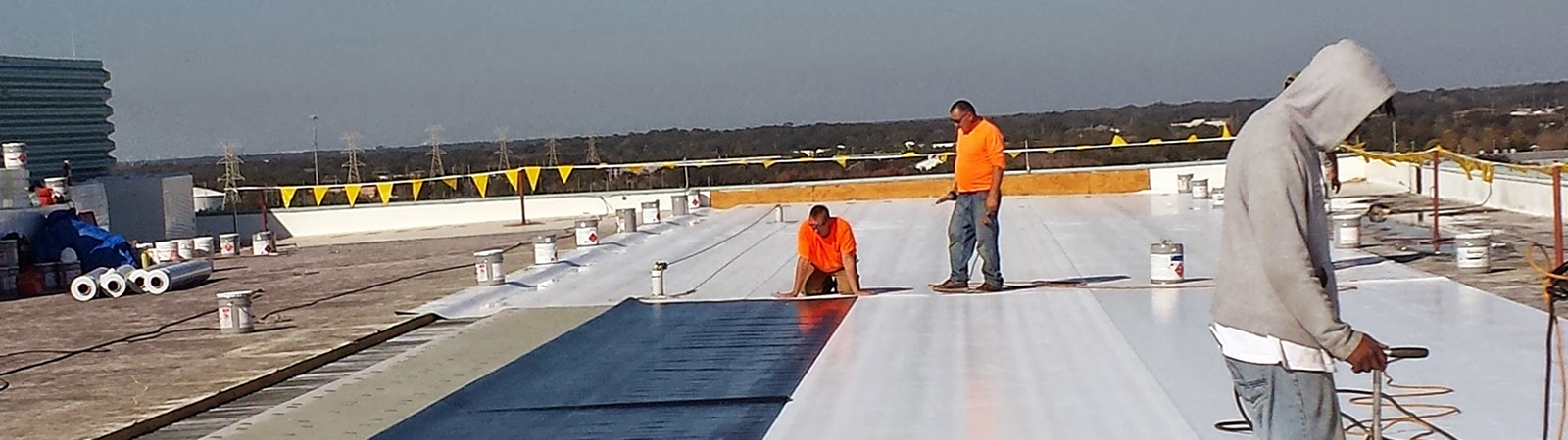 Commercial roof project in Greenwood, CO